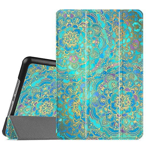 Fintie SlimShell Hülle Kompatibel mit iPad Mini 4 - Superdünn Superleicht Smart Stand Schutzhülle Cover Hülle mit Auto Schlaf/Wach Funktion, Jade