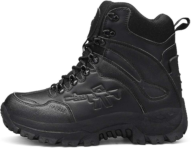 FHCGMX Nuovi Desert Tactical Military stivali Men Army Outdoor Hire avvio Winter Men moda Casual Sautope comode Stivali da Neve tuttia Caviglia