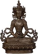 Sculpture Appreciation Bronze Religious Buddha Statue Sculpture Figurines Decoration