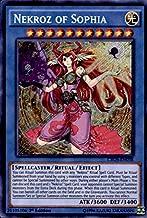 Yu-Gi-Oh! - Nekroz of Sophia (CROS-EN038) - Crossed Souls - Unlimited Edition - Secret Rare