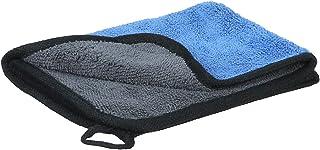 فوطة تنظيف مايكروفايبر وجهين من بوم فريش - ازرق ورمادي