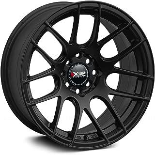 XXR 530 Flat Black (16x8) +20 (4x100/4x4.5)