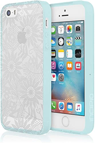 high quality Incipio outlet online sale Cell Phone Case for Apple iPhone 5/5S/SE - Retail Packaging - Bearded online Daisy/Silver outlet online sale