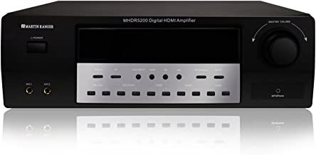 HDMI (2160P/4K) ARC 5.2 Channel Built-in Bluetooth V4.0 Digital Amplifier with VFD Display