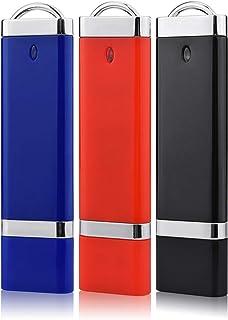 USBメモリ RAOYI 8GB USB2.0 フラッシュドライブ キャップ式 3個セット ライター型 フラッシュメモリ カラフル(赤、青、黒) 2年保証