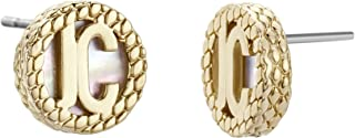 JUST CAVALLI Earrings, Just Exquisite, Yellow gold Color-JCER00880200