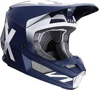 Fox Racing 2020 V1 Helmet - Werd (Medium) (Navy)