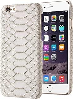 New Snakeskin Texture Hard Back Cover Protective Back Case for iPhone 5(Black) Hopezs (Color : Beige)