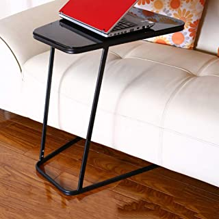 Table Notebook Laptop Desk Portable Standing Bed Sofa Table It Can Move Lazy Learn Reading Books 4 Colors 45x53x61CM (Colo...