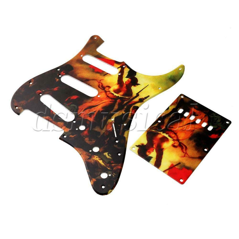 Guitar Parts 67% OFF of fixed price SSS Pickguard French Pick High quality Revolution Design