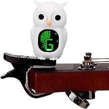 Cute Cartoon Viola Violin Tuner, White