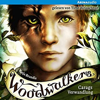 Carags Verwandlung     Woodwalkers 1              By:                                                                                                                                 Katja Brandis                               Narrated by:                                                                                                                                 Timo Weisschnur                      Length: 5 hrs and 9 mins     1 rating     Overall 5.0