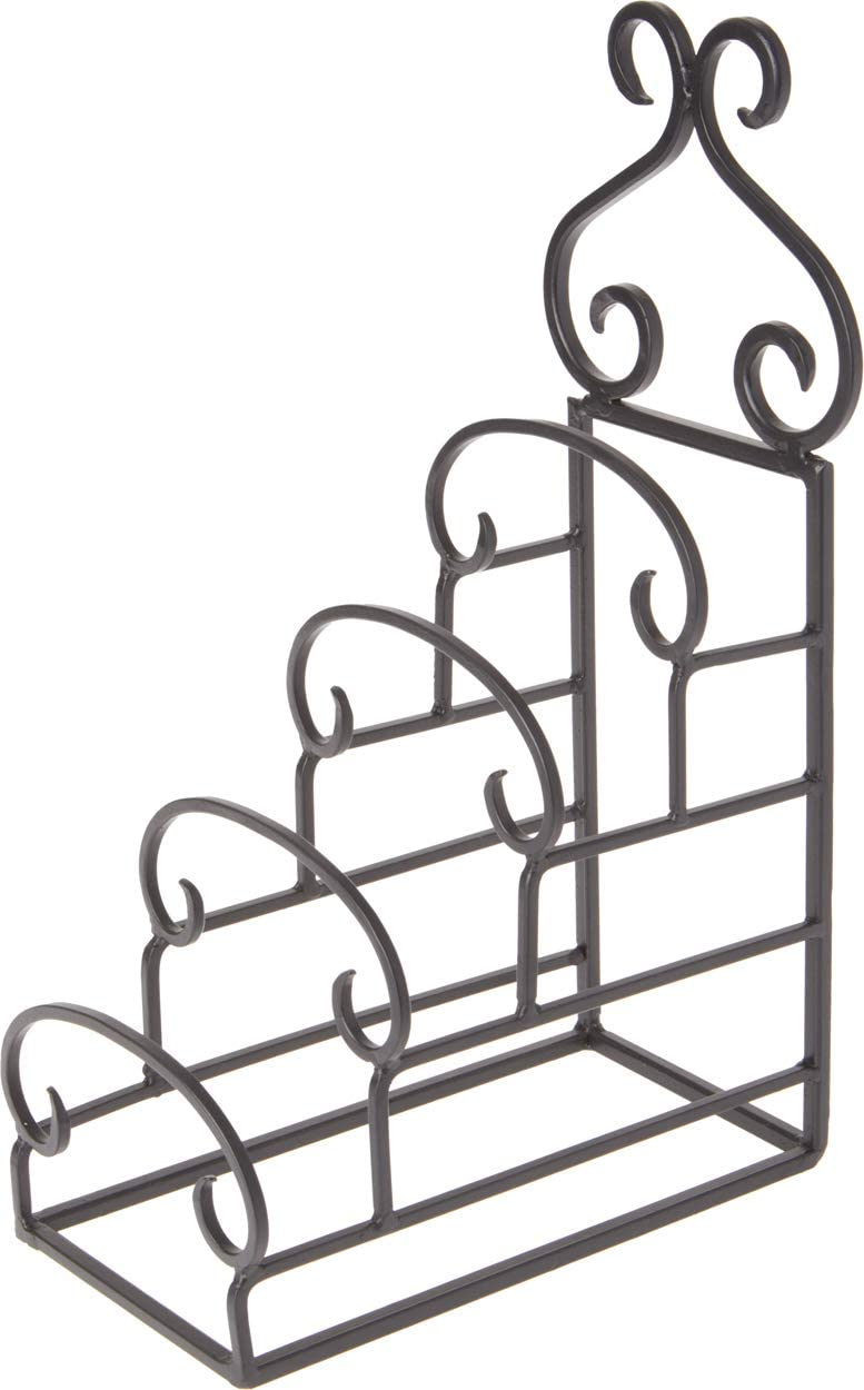 Bard's Wrought Iron 4 Plate Table Stand, 14