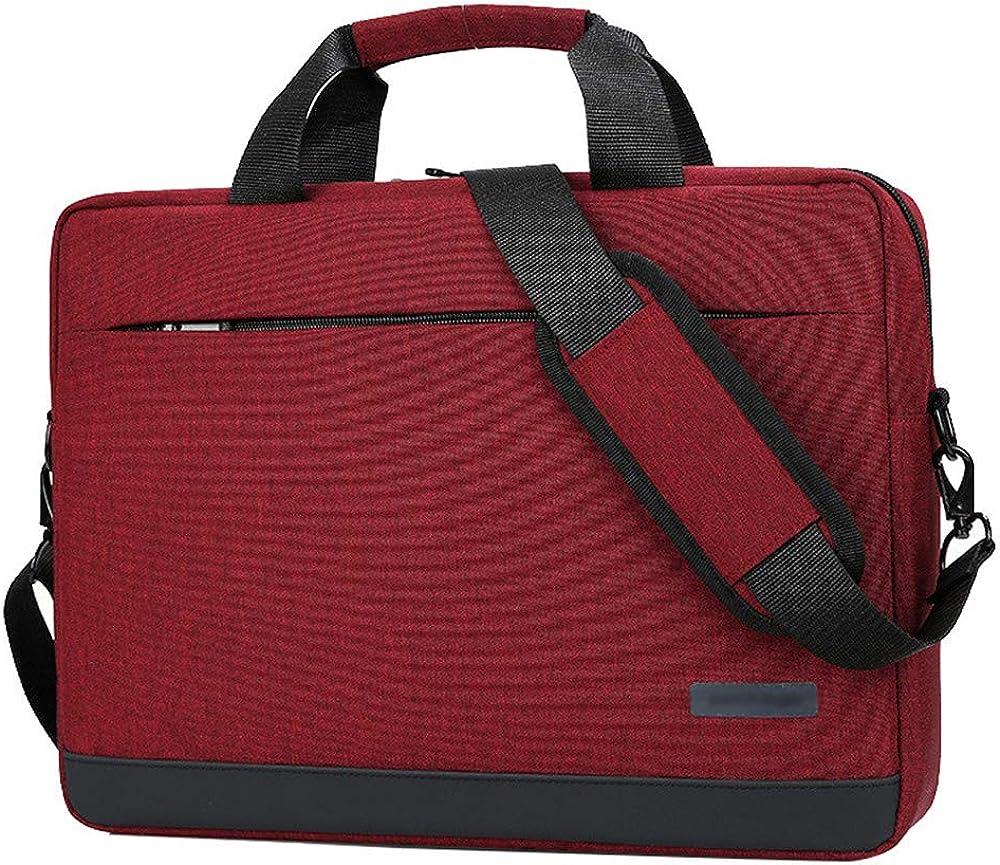 Borsa portatile per laptop, ventiquattrore, custodia a tracolla, borsetta  porta pc per macbook,15,6 pollici