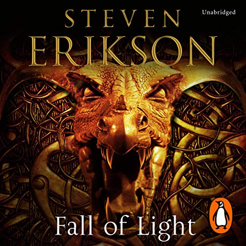 Fall of Light     The Second Book in the Kharkanas Trilogy              Written by:                                                                                                                                 Steven Erikson                               Narrated by:                                                                                                                                 Barnaby Edwards                      Length: 44 hrs and 40 mins     3 ratings     Overall 5.0