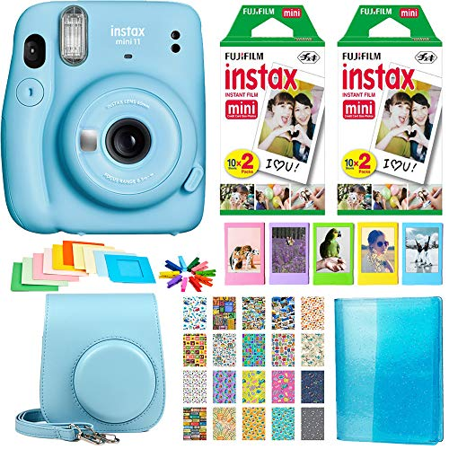 Fujifilm Instax Mini 11 Instant Camera & Accessories Bundle
