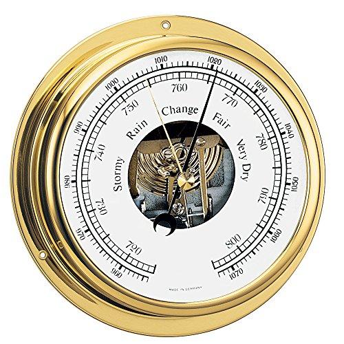 BARIGO Viking Series Ship's Barometer - Brass Housing - 5\