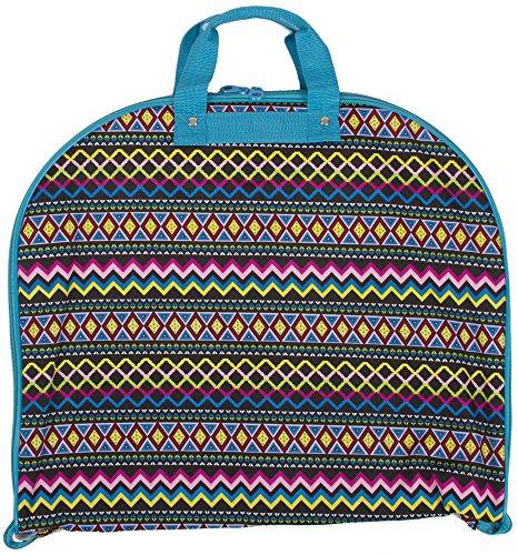 Ever Moda Aztec Hanging Garment Bag