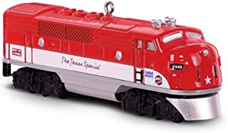 Hallmark Keepsake Christmas Ornament 2018 Year Dated, LIONEL Trains 2245P Texas Special Locomotive, Metal
