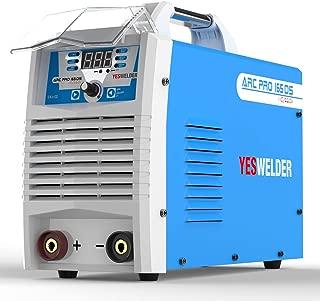 YESWELDER ARC Welding Machine 165A Stick Welder Digital Inverter Welder 110/220V DC Lift TIG Portable Welding Machine
