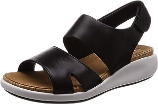 Clarks Women Un Bali Sling Leather Fashion Sandals