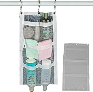 Evelots Shower Caddy-Organizer-Easy Bottle Squeeze- 5 Pockets-Soap-Shampoo-Set/2