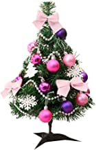 Allywit Mini Artificial Christmas Tree | Best Choice Christmas Decoration for Table and Desk Tops | Small 17