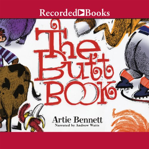The Butt Book audiobook cover art
