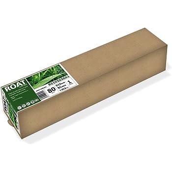 ROAT R6105050 – Rollo de papel inkjet de 80 gr, 610 mm x 50 mtrs ...