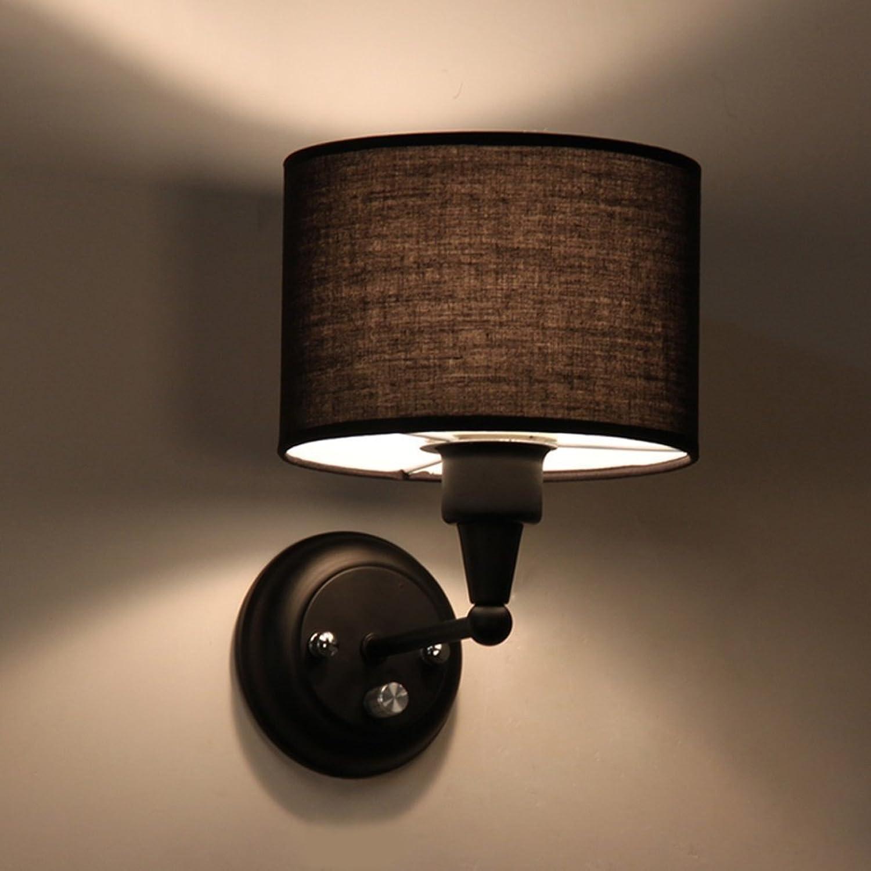 GYR Wandleuchte Moderne Einfache Metall Tuch Wandleuchte Wandleuchte Wandleuchte Wohnzimmer Schlafzimmer Bettwäsche Kreative Warme Wandleuchte Dimmbare Nachttischlampe B078K984W4 | Kostengünstiger  abbc4d
