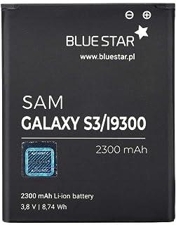 Blue Star Premium - Batería de Li-Ion litio 2300 mAh de Capacidad Carga Rapida 2.0 Compatible con el Samsung Galaxy S3