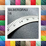 1buy3 Meterweise Oxford 600D Farbe 18 | Silbergrau |