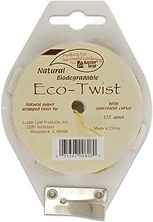 Luster Leaf 806 Natural Biodegradable Eco-Twist, 175'
