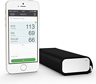QardioArm Blood Pressure Monitor: FSA-Eligible, Medically Accurate, Compact Digital Upper Arm Cuff. App enabled for iOS, Android, Kindle. Works with Apple Watch, Apple and Samsung Health.