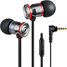 Betron MK23 نوکیا صدای جداگانه در گوش هدفون با میکروفون باس رانده صدای تخت کابل تلفن تخت برای اپل آی فون آی پاد اپل سامسونگ