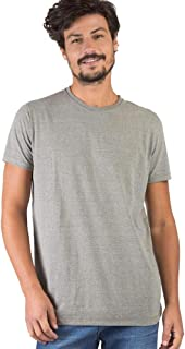 T-Shirt Básica Mescla Comfort Verde Militar