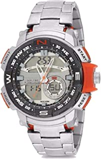 Casual Watch For Men Analog-Digital Stainless Steel - 1515G