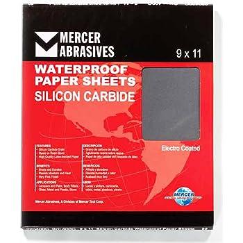 9 x 11 Waterproof Sheet 320 grit 50