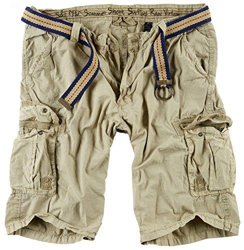 Surplus Herren Cargo Shorts Summer, beige, XXL