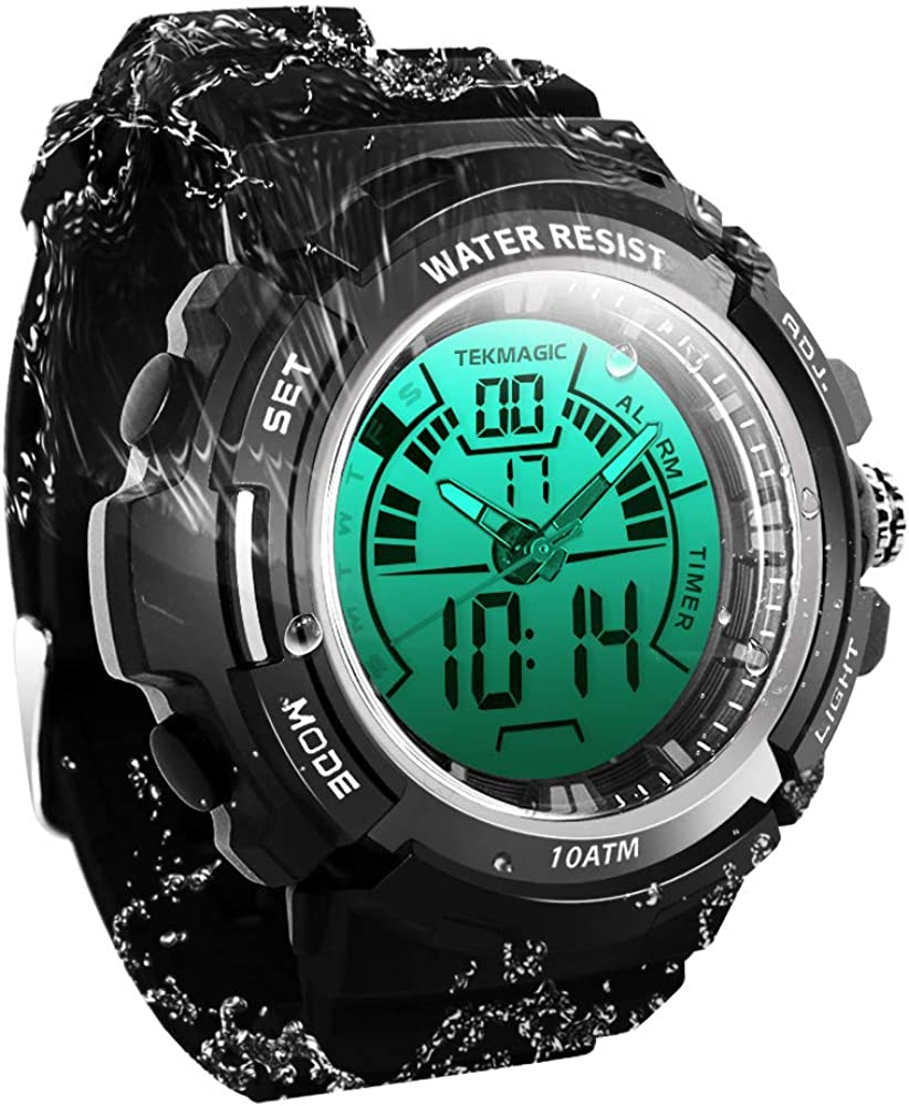 TEKMAGIC Digital safety Sport All items in the store Dive Watch Resistant 100m Water Wristwatc