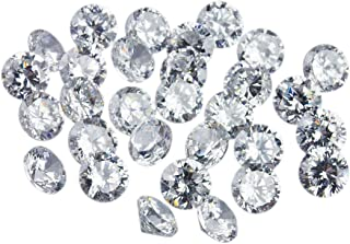 Gemhub 7 Pcs. CVD Diamonds 3.50 mm to 3.60 mm TCW 1.09,G-H,VVS-VS,Lab Grown Diamond for Ring