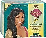 Hawaiian Silky Argan Oil Hydrating Sleek no Lye Touch Up Relaxer - Regular HA17