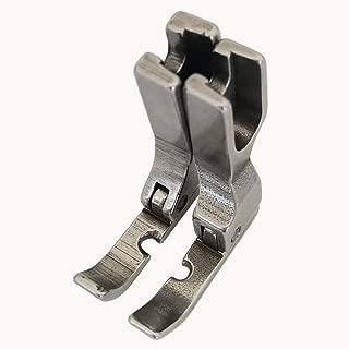 HONEYSEW Pressure Foot Cording Zipper Foot P36N/P36LN Left,Right Foot For Singer Brother Juki Industrial Sewing Machine