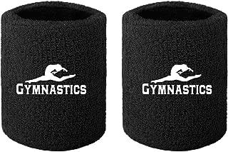Gymnastics Wristbands Sweatband for Grips 4 X 2.75 (1 Pair)