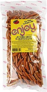 Enjoy Hawaii Jumbo Hot Kakinotane Japanese Arare Style Rice Crackers 8 oz. bag