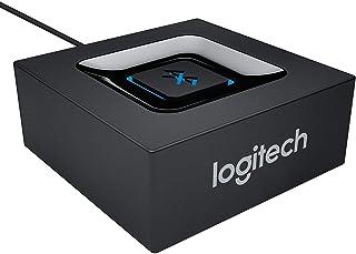 Logitech Draadloze Bluetooth Audio Ontvanger, Bluetooth Adapter voor PC/Mac/Smartphone/Tablet/AV Receiver, 3.5mm Audio en ...