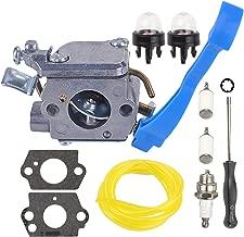 Mckin Carburetor with Adjustment Tool Kit Screwdriver Primer Bulb for Husqvarna 125B 125BX 125BVX ZAMA C1Q-W37 545081811