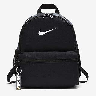 Nike Unisex-Child Backpack, Black/White - NKBA5559
