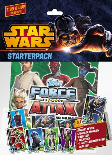 Topps TO90799 - Clone Wars - Force Attax Serie 5 Trading Card Starterpack