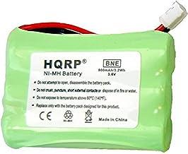HQRP Batería de teléfono para Bang & OLUFSEN BeoCom 6000, 3HR-AAAU, 70AAAH3BMXZ, T373 reemplazo para 2.4GHz teléfono inalámbrico DECT